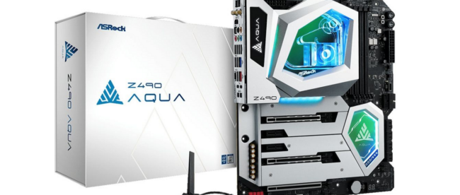 asrock-announces-$1,100-water-cooled-z490-motherboard
