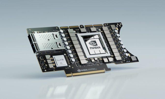 NVIDIA EGX A100 converged accelerator