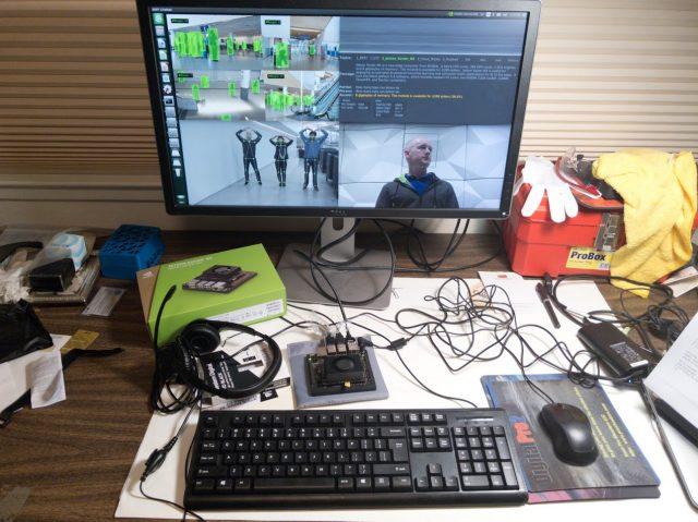 Running multiple Docker container-based demos on Nvidia Jetson Xavier NX