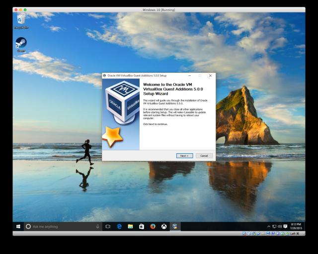 VirtualBox Guest Additions