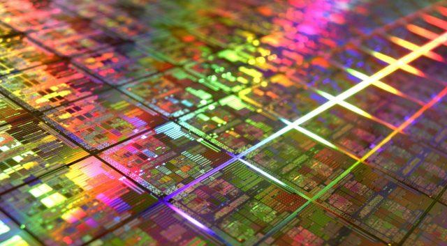 Intel CPU Wafers