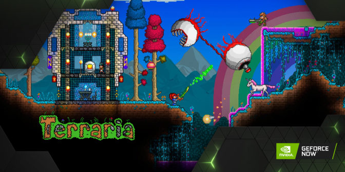 Terraria on GeForce NOW