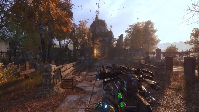 Metro Exodus PC Enhanced Edition includes updated real-time ray tracing across both the base game and the expansion.