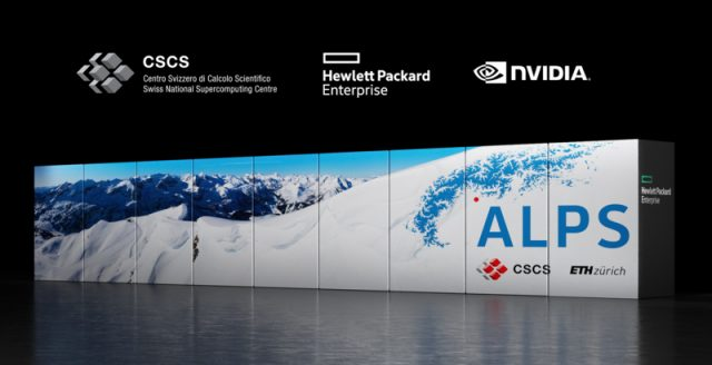 The ALPS supercomputer in Switzerland will be powered by Nvidia Grace CPUs