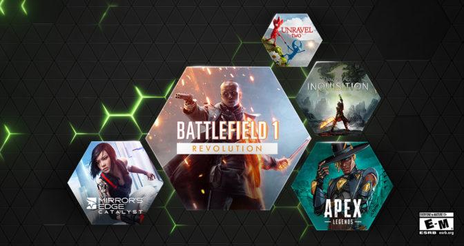EA Games on GeForce NOW